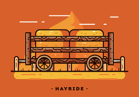 Free Hayride Vector