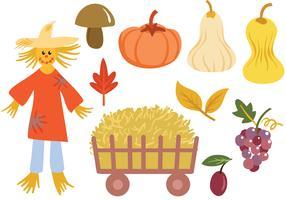 Vectores de cosecha gratis