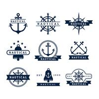 Free Nautical Vector Badges