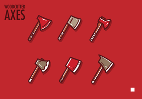 Woodcutter Axe Vector