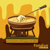 Cheese Founde Illustration