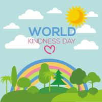 Free World Kindness Day Vector