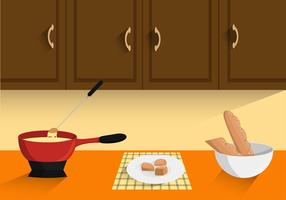 Cooking Fondue Free Vector