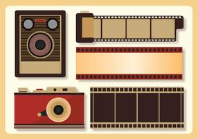 Retro foto Vector Pack