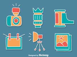 Camera Element Vector