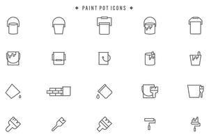 Free Paint Pot Vectors