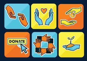 Pack d'icônes de gentillesse Icon
