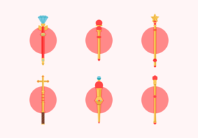 Scepter Free Vector Pack