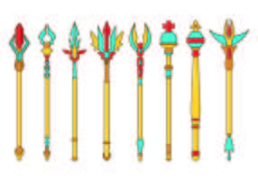 Set Of Sceptre Icon