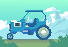 Traktor Hayride Vektor