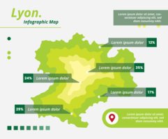 lyon infographic map
