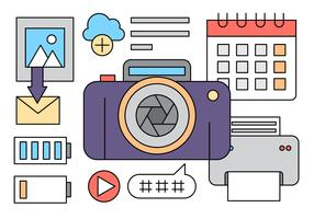 Linear Photography Icons