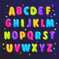 Cute Colorful Font