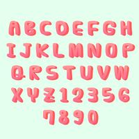 3D Vektor-Alphabet