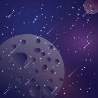 Vector de fondo de polvo de estrellas