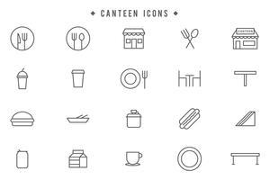 Free Canteen Vectors