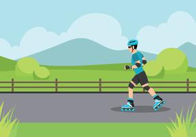 Rollerblade Free Vector