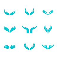 Healing Hands Logo Vector