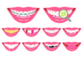 Set Of False Teeth Icon