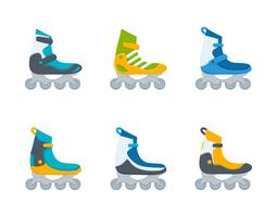 Free Unique Rollerblade Vectors