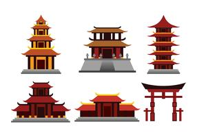 Shrine Vector Collection
