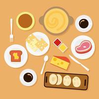 Vecteur de fondue au fromage gratuit