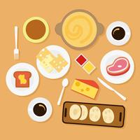 Free Cheese Fondue Vector