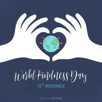 World Kindness Day Vector Card
