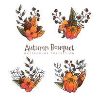 Autumn Leaves-collectie aan de herfstseizoen