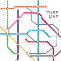 Tube Map Vector