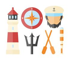 Free Unique Seaman Vectors