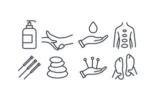 Therapie Icon Set