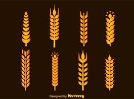 Vecteur d'oreilles de blé