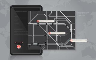 Tube Map Mass Transportation. Mobile Location Sharing and Social Media.