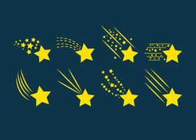 Vecteurs de poussière étoiles Star gratuit