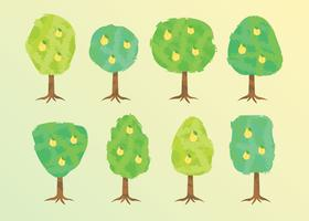 Free Peach Tree Vector