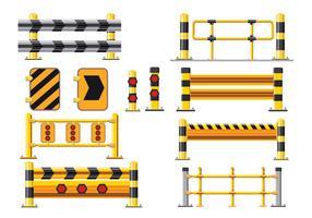 Barrier and Guard Rail Vector Pack