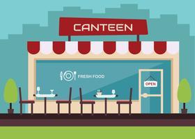 Free Canteen Vector
