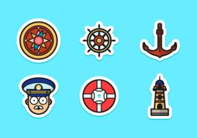 Paquete de vectores gratis Seaman