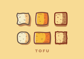 Vector de Tofu gratis