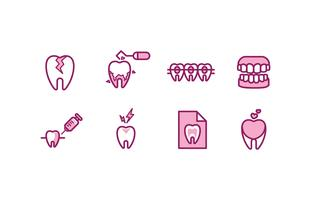 Dentist Icon Set
