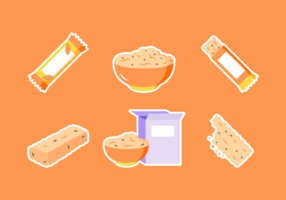 Granola Free Vector Pack