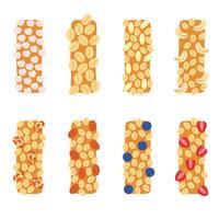 Vetor de ícone de granola