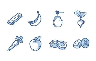 Sugar sources icon pack