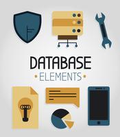 Gratis Database Elements Vector