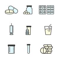 Free Supplements Vector Icons