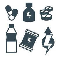 Suplements Vector Icons