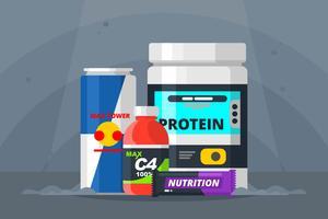 Supplements Illustration