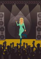 Free Beyonce Concert Illustration