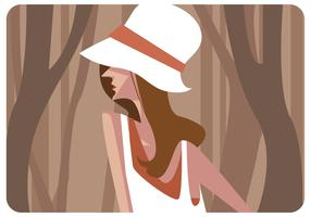 Model With Hat Vector